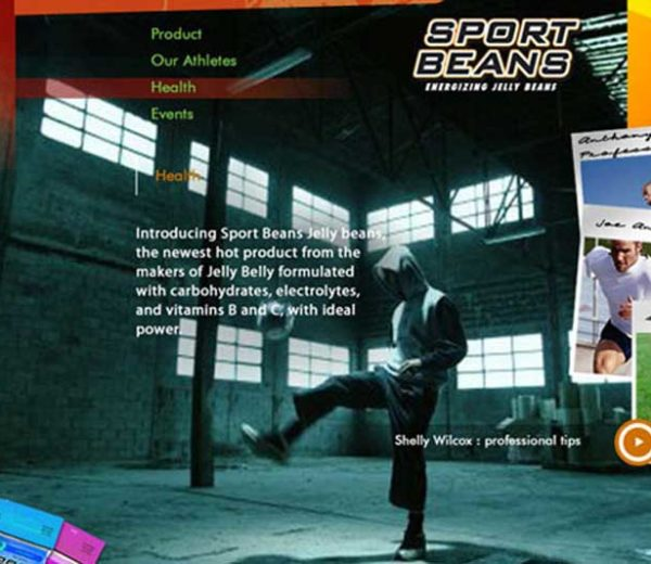 Sportsbean – Website Mock-Up