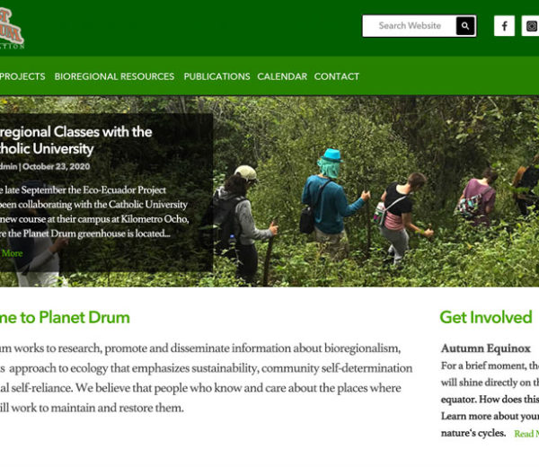 Planet Drum Foundation – Website