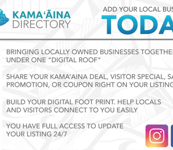Kamaaina Directory – Print Marketing