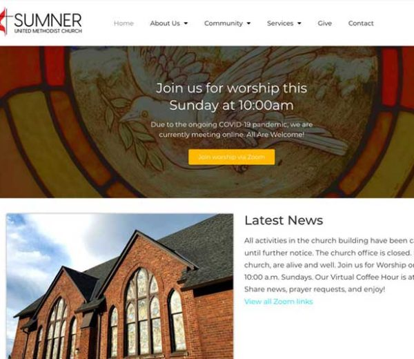Sumner United Methodist Church – Website